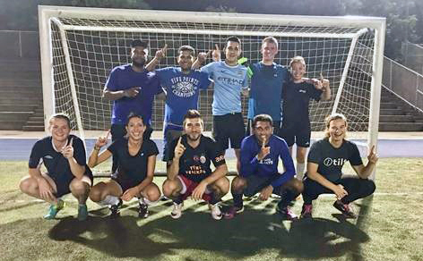 Field Services champion soccer team (2018)